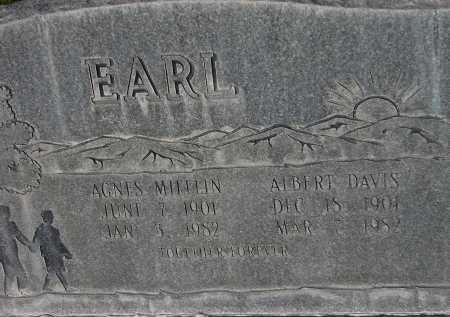 EARL, AGNES - Box Elder County, Utah | AGNES EARL - Utah Gravestone Photos