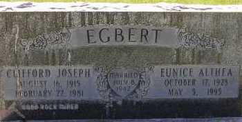 EGBERT, EUNICE ALTHEA - Box Elder County, Utah | EUNICE ALTHEA EGBERT - Utah Gravestone Photos