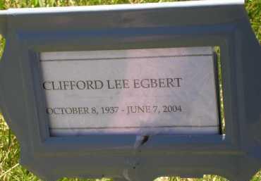 EGBERT, CLIFFORD LEE - Box Elder County, Utah | CLIFFORD LEE EGBERT - Utah Gravestone Photos