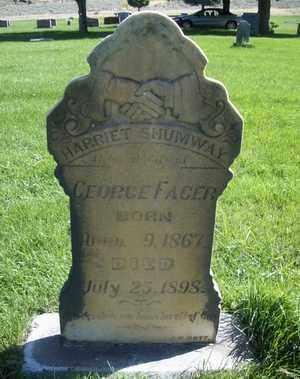 FACER, HARRIET - Box Elder County, Utah | HARRIET FACER - Utah Gravestone Photos