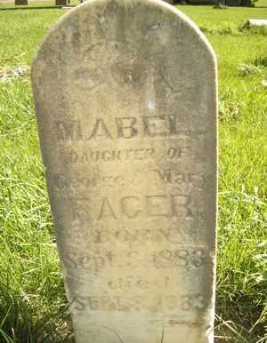 FACER, MABEL - Box Elder County, Utah | MABEL FACER - Utah Gravestone Photos