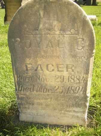 FACER, ROYAL GROVER - Box Elder County, Utah | ROYAL GROVER FACER - Utah Gravestone Photos
