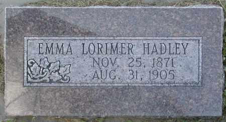 HADLEY, EMMA - Box Elder County, Utah | EMMA HADLEY - Utah Gravestone Photos
