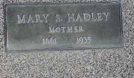 HADLEY, MARY - Box Elder County, Utah | MARY HADLEY - Utah Gravestone Photos