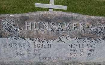 HUNSAKER, MAURINE KATHRYN - Box Elder County, Utah | MAURINE KATHRYN HUNSAKER - Utah Gravestone Photos