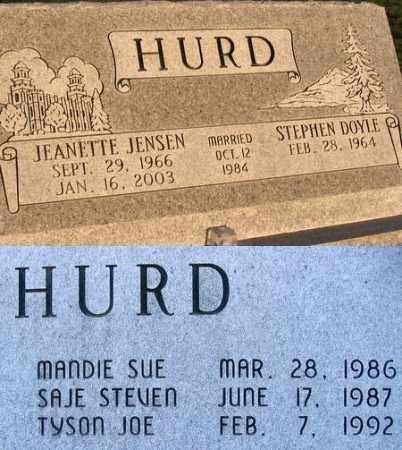 HURD, JEANETTE - Box Elder County, Utah | JEANETTE HURD - Utah Gravestone Photos