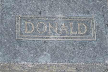 MANNING, DONALD - Box Elder County, Utah | DONALD MANNING - Utah Gravestone Photos