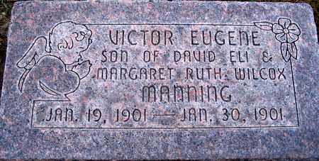 MANNING, VICTORY EUGENE - Box Elder County, Utah   VICTORY EUGENE MANNING - Utah Gravestone Photos