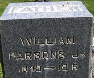 PARSONS, WILLIAM, JR. - Box Elder County, Utah   WILLIAM, JR. PARSONS - Utah Gravestone Photos