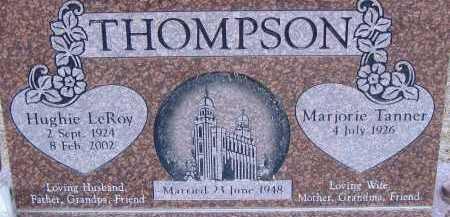 THOMPSON, HUGHIE LEROY - Box Elder County, Utah | HUGHIE LEROY THOMPSON - Utah Gravestone Photos