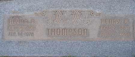 THOMPSON, HENRY D. - Box Elder County, Utah | HENRY D. THOMPSON - Utah Gravestone Photos