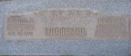 THOMPSON, ALZINA A. - Box Elder County, Utah   ALZINA A. THOMPSON - Utah Gravestone Photos