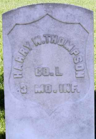 THOMPSON, HARRY W. - Box Elder County, Utah | HARRY W. THOMPSON - Utah Gravestone Photos