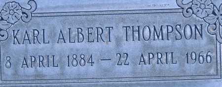 THOMPSON, KARL - Box Elder County, Utah | KARL THOMPSON - Utah Gravestone Photos