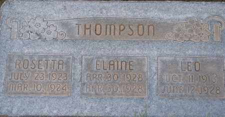 THOMPSON, ROSETTA - Box Elder County, Utah | ROSETTA THOMPSON - Utah Gravestone Photos