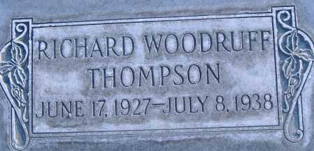 THOMPSON, RICHARD - Box Elder County, Utah   RICHARD THOMPSON - Utah Gravestone Photos