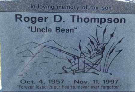 THOMPSON, ROGER D - Box Elder County, Utah | ROGER D THOMPSON - Utah Gravestone Photos