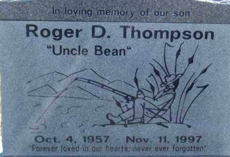 THOMPSON, ROGER D - Box Elder County, Utah | ROGER D THOMPSON - Utah Gravestone Photos