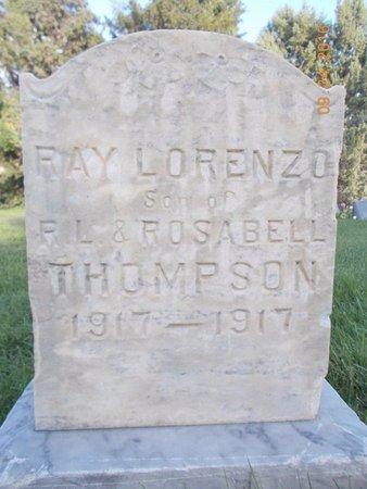 THOMPSON, RAY LORENZO - Box Elder County, Utah   RAY LORENZO THOMPSON - Utah Gravestone Photos