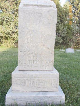 THOMPSON, ROSABELL H - Box Elder County, Utah | ROSABELL H THOMPSON - Utah Gravestone Photos
