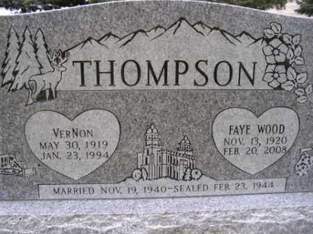 THOMPSON, FAYE - Box Elder County, Utah | FAYE THOMPSON - Utah Gravestone Photos