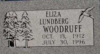 WOODRUFF, ELIZA - Box Elder County, Utah   ELIZA WOODRUFF - Utah Gravestone Photos