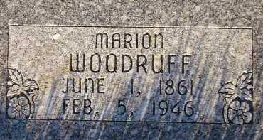 WOODRUFF, MARION - Box Elder County, Utah | MARION WOODRUFF - Utah Gravestone Photos