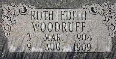 WOODRUFF, RUTH EDITH - Box Elder County, Utah | RUTH EDITH WOODRUFF - Utah Gravestone Photos