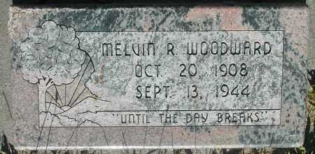 WOODWARD, MELVIN R. - Box Elder County, Utah | MELVIN R. WOODWARD - Utah Gravestone Photos