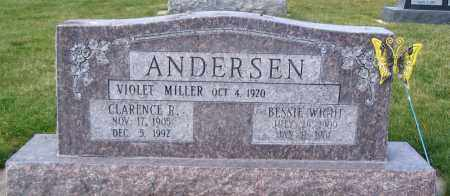 ANDERSEN, BESSIE - Cache County, Utah | BESSIE ANDERSEN - Utah Gravestone Photos