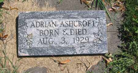 ASHCROFT, ADRIAN - Cache County, Utah | ADRIAN ASHCROFT - Utah Gravestone Photos