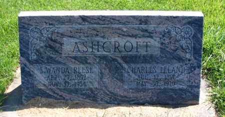 ASHCROFT, S. WANDA - Cache County, Utah | S. WANDA ASHCROFT - Utah Gravestone Photos