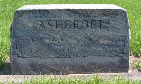 ASHCROFT, SARAH E. - Cache County, Utah | SARAH E. ASHCROFT - Utah Gravestone Photos