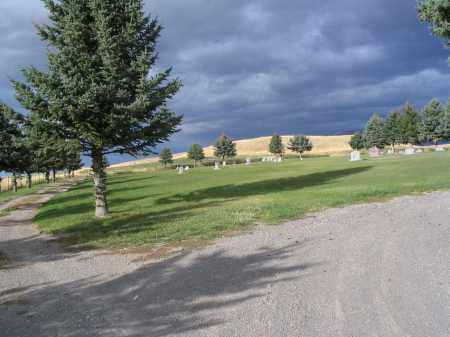 VIEW, AVON CEMETERY - Cache County, Utah | AVON CEMETERY VIEW - Utah Gravestone Photos
