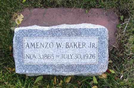 BAKER, AMENZO W., JR. - Cache County, Utah   AMENZO W., JR. BAKER - Utah Gravestone Photos