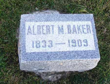 BAKER, ALBERT M. - Cache County, Utah | ALBERT M. BAKER - Utah Gravestone Photos
