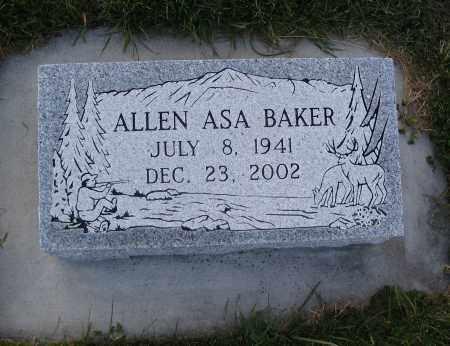 BAKER, ALLEN ASA - Cache County, Utah | ALLEN ASA BAKER - Utah Gravestone Photos