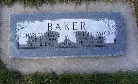 BAKER, PHYLLIS - Cache County, Utah | PHYLLIS BAKER - Utah Gravestone Photos