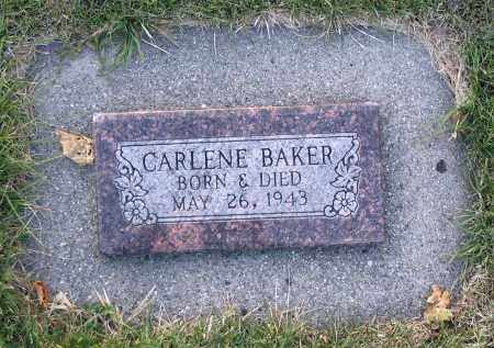 BAKER, CARLENE - Cache County, Utah | CARLENE BAKER - Utah Gravestone Photos