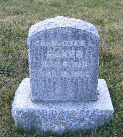 BAKER, CHARLOTTE L. - Cache County, Utah | CHARLOTTE L. BAKER - Utah Gravestone Photos