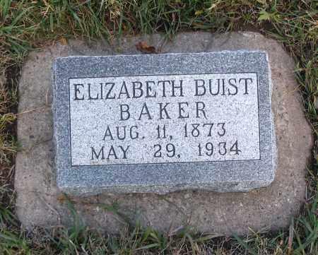 BAKER, ELIZABETH - Cache County, Utah | ELIZABETH BAKER - Utah Gravestone Photos