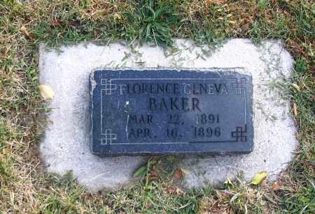BAKER, FLORENCE GENEVA - Cache County, Utah | FLORENCE GENEVA BAKER - Utah Gravestone Photos