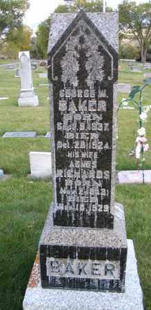 BAKER, AGNES - Cache County, Utah | AGNES BAKER - Utah Gravestone Photos