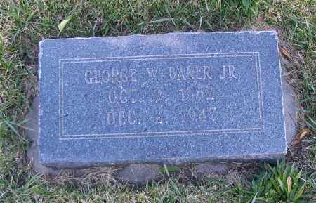 BAKER, GEORGE W. (JR) - Cache County, Utah | GEORGE W. (JR) BAKER - Utah Gravestone Photos