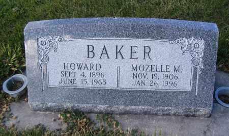 BAKER, HOWARD - Cache County, Utah | HOWARD BAKER - Utah Gravestone Photos