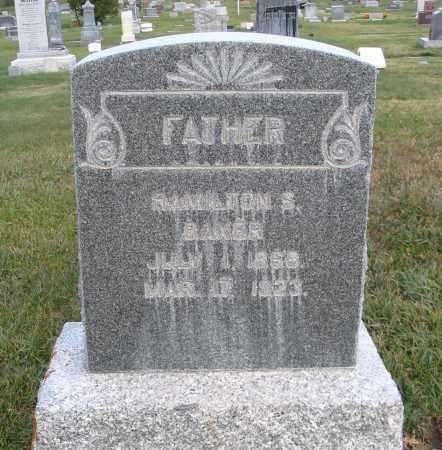 BAKER, HAMILTON S. - Cache County, Utah | HAMILTON S. BAKER - Utah Gravestone Photos
