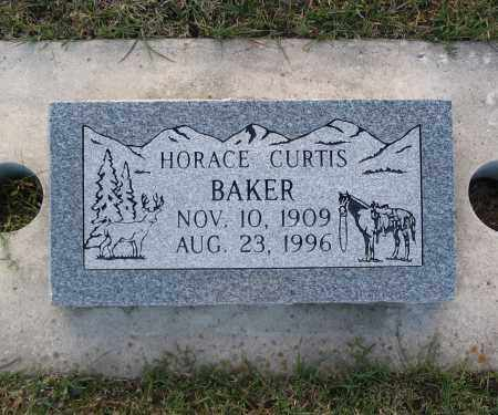 BAKER, HORACE CURTIS - Cache County, Utah | HORACE CURTIS BAKER - Utah Gravestone Photos