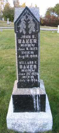 BAKER, JOHN S. - Cache County, Utah | JOHN S. BAKER - Utah Gravestone Photos