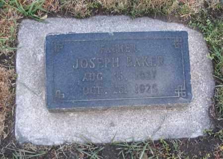 BAKER, JOSEPH - Cache County, Utah | JOSEPH BAKER - Utah Gravestone Photos