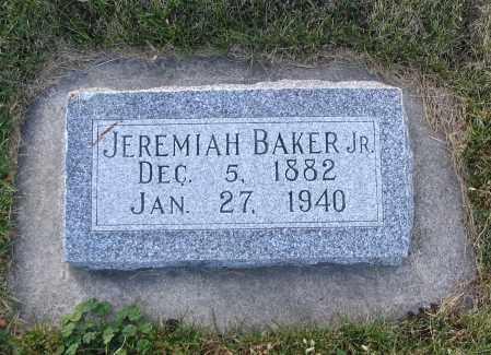 BAKER, JEREMIAH (JR.) - Cache County, Utah   JEREMIAH (JR.) BAKER - Utah Gravestone Photos